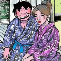 スケベ漫画家・成田アキラ先生の「快楽の泉」第9回「成田アキラ流・温泉遊び」