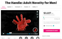 夢の発明?「手コキ専用グローブ」メーカーが投資家募集中