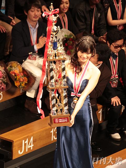 高橋しょう子「涙の7冠」AV OPEN2016で偉業達成!